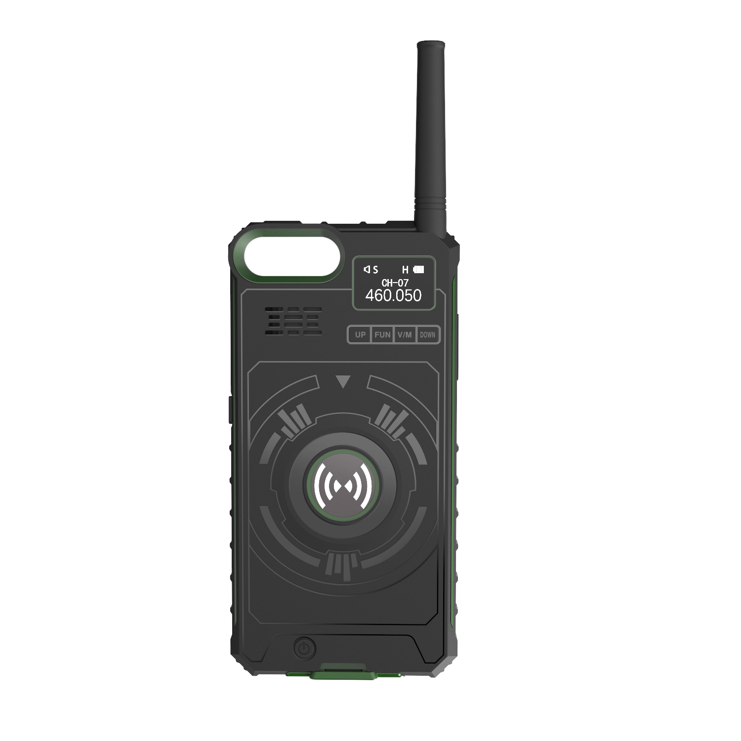 2019 powerful walkie talkie With Power Bank and phone Case for Iphone