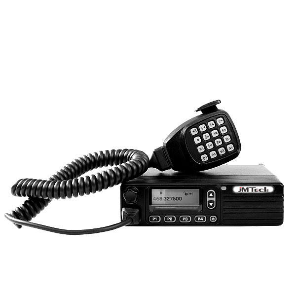 50W radio transmitter Digital Mobile walkie talkie 30km range DMR Mobile radio station equipment